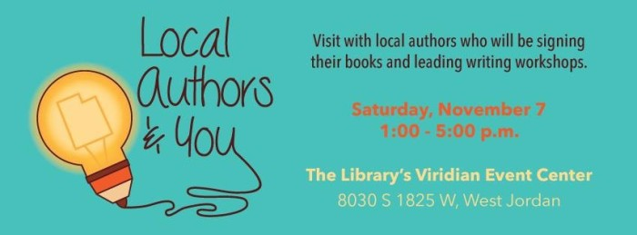 local authors and you